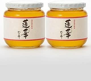 はちみつ 専門店【かの蜂】 国産 九州 レンゲ 蜂蜜 600g×2本 完熟 の 純粋 蜂蜜 (瓶容器)