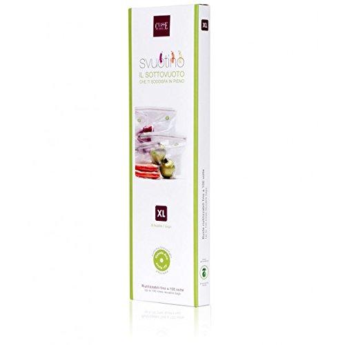 Lot de 6 enveloppes isotherme pour aliments sous-vide 30 x 34 cm large