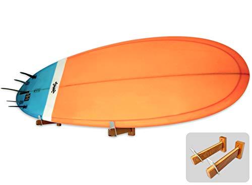 StoreYourBoard Naked Timber Surfboard Wandhalterung, Holzständer, (Natürlich)