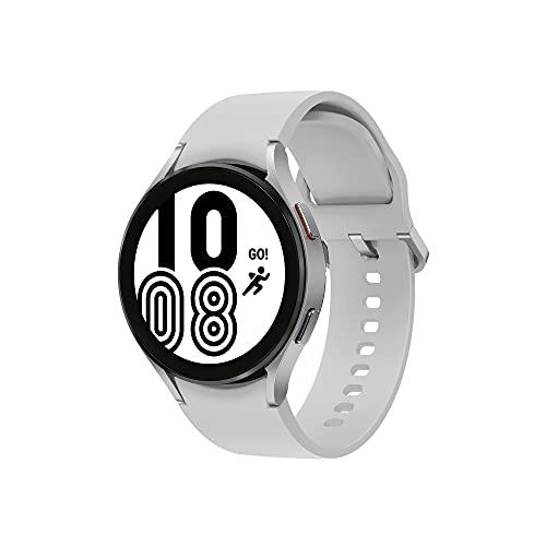 Samsung Galaxy Watch4 Smart Watch, Health Monitoring, Fitness Tracker, Long Lasting Battery, Bluetooth, 40 mm, Silver (UK Version)