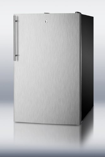 20' Wide Built-in Undercounter All-refrigerator, Auto Defrost With ...
