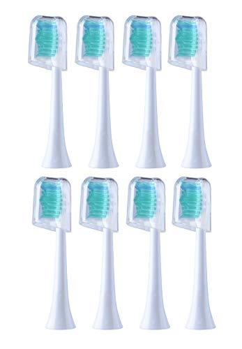 8 cabezales recambio cepillos dientes E-Cron tapas