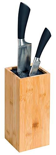 Kesper messenblok, bamboe, bruin, 10 x 10 x 23 cm