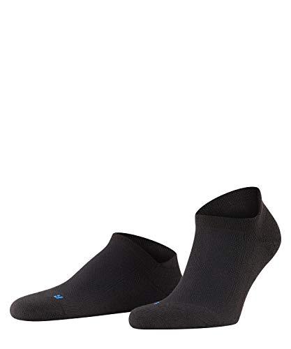 FALKE Unisex Cool Kick Sneaker U SN Socken, Blickdicht, Schwarz (Black 3000), 46-48