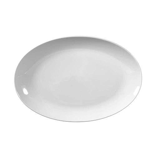 Seltmann Rondo/Liane Platte, Oval, Weiß, 31 cm, 1-teilig