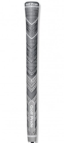 Golf Pride MCC Plus4 New Decade MultiCompound Golf Grip, Standard, Gray