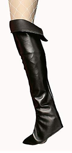narrenkiste K84250696/T2803 schwarz Damen Stulpen Stiefelstulpen