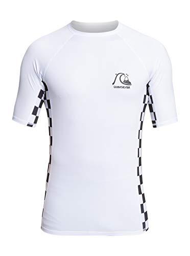 Quiksilver - Chaleco Rash Vest con protección Solar UPF 50 - Hombre