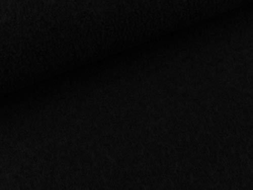 Swafing Gekochte Wolle Naomi schwarz Uni Wollwalk