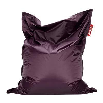Fatboy® Original lila Nylon-Sitzsack| Klassischer Indoor Beanbag, Sitzkissen | 180 x 140 cm