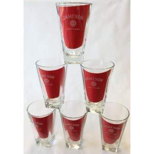6 Jameson Irish Whiskey Whisky Gläser Tumbler Longdringgläser transparent
