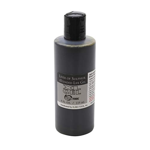Extended Life Liver of Sulfur Patina Oxidation Gel 4 ounces by Beadsmith