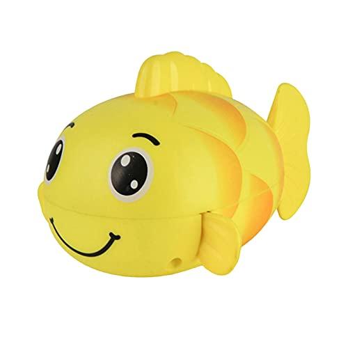 daiyanjing Juguete de baño con pez dorado, diversión al jugar sin electricidad, juguete para niños: juegos de carnaval, fiesta de vida de animales