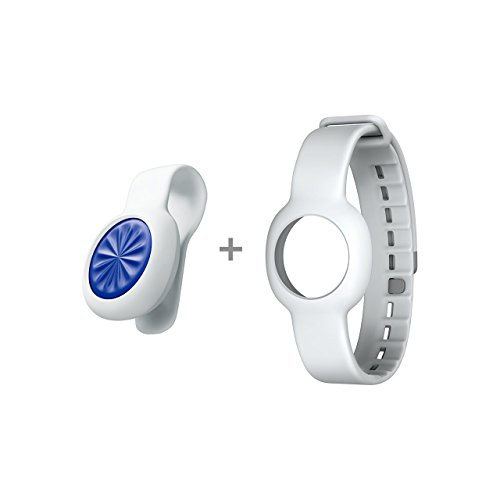 Jawbone Up Move Tracker Burst mit Fog Standard Strap blau