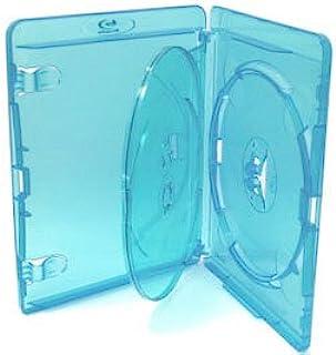 Amaray Blu Ray Premium Case for 3 discs Pk 10 Storage Cases GENUINE