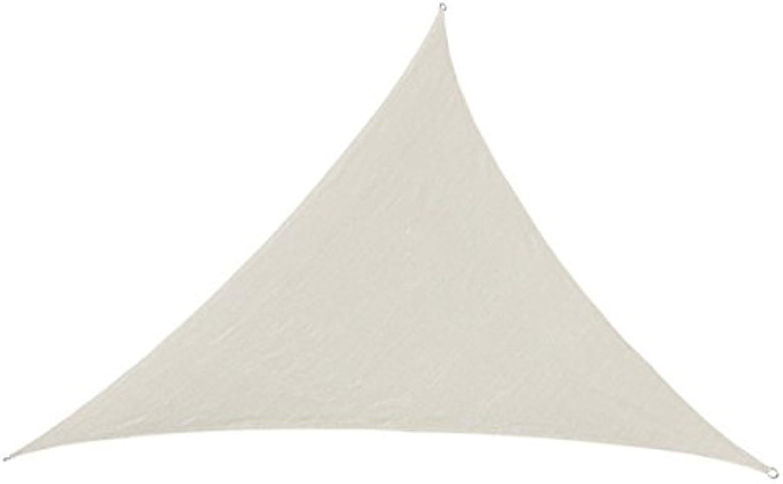 Unbekannt SportFit 629-03 - Sonnenschutz Segel Triangle, 5 x 5 x 5 m