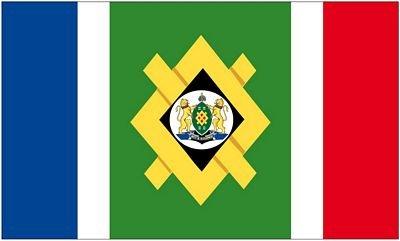 Fahne/Flagge Südafrika - Johannesburg 90 x 150 cm