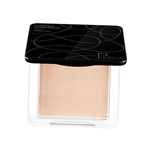 CUTICATE Polvos Compactos Maquillaje Corrector de Larga Duración/Hidratante/Impermeable/Transpirable - 09