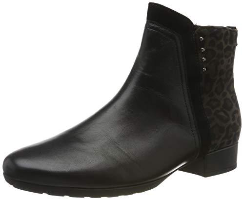 Gabor Shoes Damen Comfort Sport Stiefeletten, Schwarz (Schw/Anthr.(Micro) 67), 38.5 EU