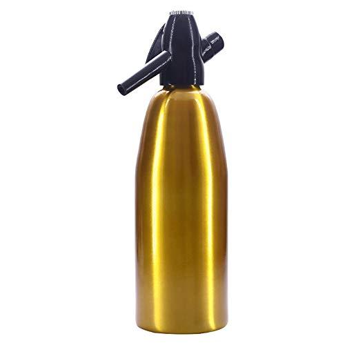 Soda Siphon Crystal, Bruiswatermaker Met 10 Co2-cilinder, Eenvoudig Te Gebruiken, Maak Aangepaste Drankjes, Geen Druppels, Bespaar Geld,Gold