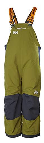 Helly Hansen Kids & Baby Rider 2 Bib Waterproof Insulated Winter Snow Pant Overalls, 487 Fir Green, Size 5