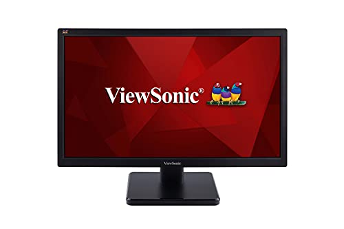 ViewSonic VA2223H 22 inch TN Display Home and Office Monitor with VGA, HDMI, 102% SRGB, 250 Nits Brightness, Eco-Mode, ViewMode, FlickerFree & Bluelight Filter, Black