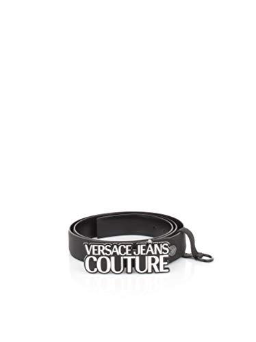 Versace Jeans - Cinturón negro para hombre D8YVBF04 - Línea para hombre DIS.1 TESS: 71456 899