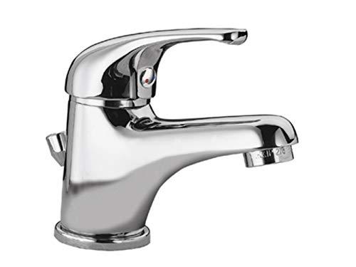 Remer - Rubinetto Miscelatore Economico per lavabo con Scarico in plastica 35