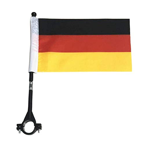 poetryer 2 Pieces Bike Safety Flag High-Visibility Flags Knight Flag With Bicycle Mounting Bracket Tear-Resistant 8.66 X 6.30inch