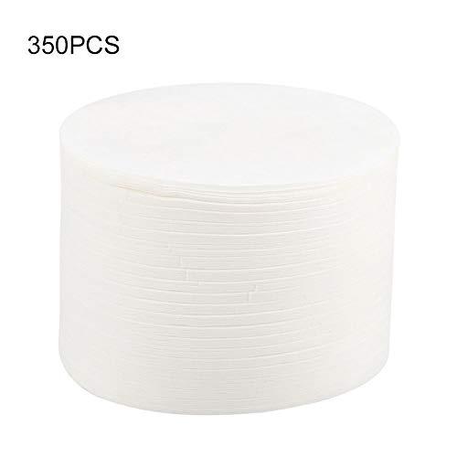 Samfox Filterpapier - 350PCS Runde Kaffeefilterpapier Kaffeemaschine Filter Siebkorbfilter Kompatibel Mit Aeropress Coffee Maker