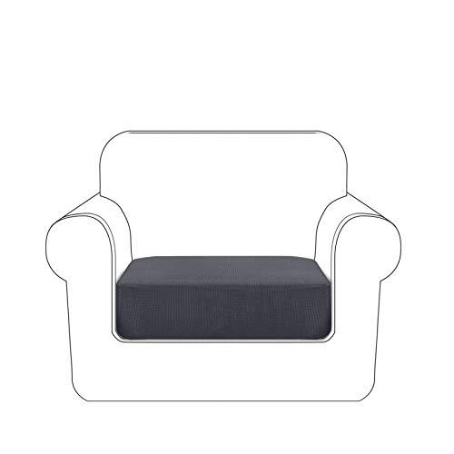 Granbest Premium - Funda de cojín para sofá(Gris, 1 Plaza)