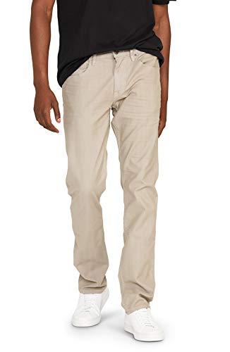 HUDSON Jeans Men's Classic Slim Straight Chino, Steel Grey, 29