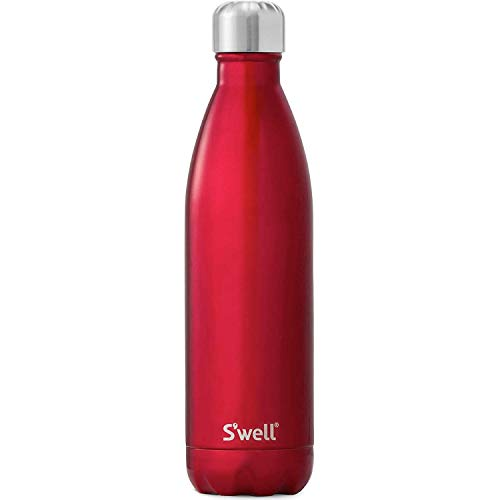 S'well SWB-RED06 Stainless Steel Bottiglia, Acciaio 18-8, Barca a Remi Rosso