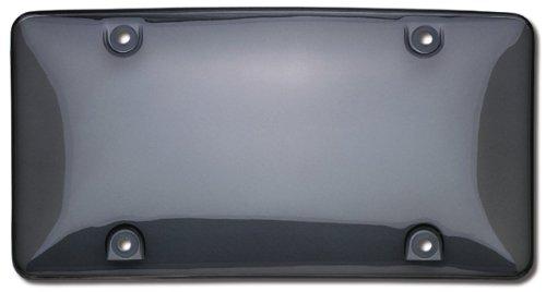 Cruiser Accessories 72200 Bubble Shield License Plate Shield/Cover, Smoke