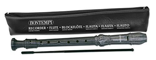 Bontempi 31 - Flauto Dolce, diteggiatura Tedesca, custodia inclusa, 3920