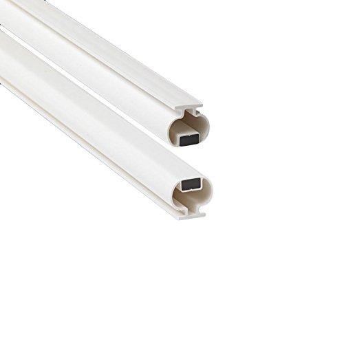 200cm EC-MAG-8-53 Guarnizione Magnetica Box Doccia in gomma (Bianco)