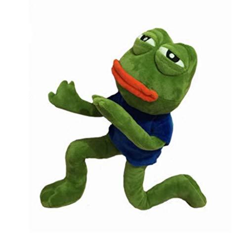 HJHJK Magischer Ausdruck Pepe Der Frosch Trauriger Frosch Sammlung Plüsch Gefülltes Spielzeug Weihnachtsgeburtstagsgeschenke
