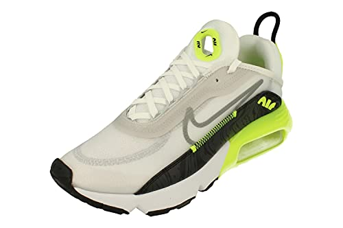 Nike Air MAX 2090 Hombre Running Trainers CZ7555 Sneakers Zapatos (UK 7.5 US 8.5 EU 42, White Cool Grey Volt Black 100)