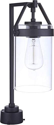 Craftmade Product ZA3315-MN Franklin Clear Oklahoma City Mall Cylinder Outdoor Glass Pendan