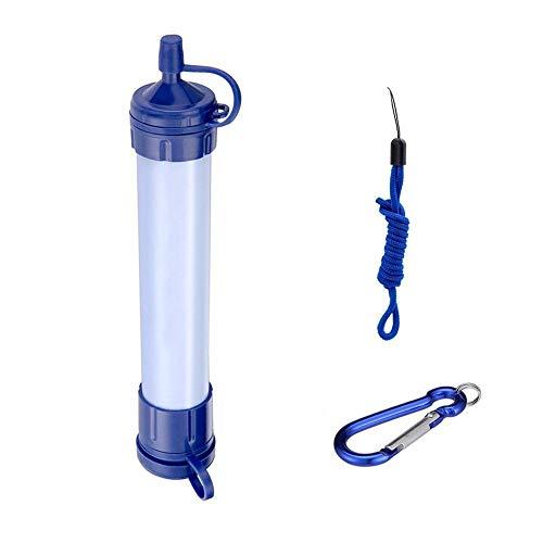 WLD Utilisation à la maison Filtre de qualité de l'eau Purificateur d'eau Purificateur d'eau extérieur Filtre à eau pour camping Randonnée Outil de survie d'urgence