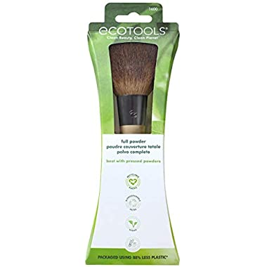 EcoTools Makeup Brush for Professional Finish, for Foundation and Pressed Powder