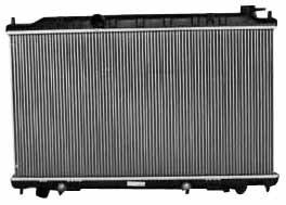 TYC 2414 - Radiador de repuesto para Nissan Altima de 1 fila de aluminio