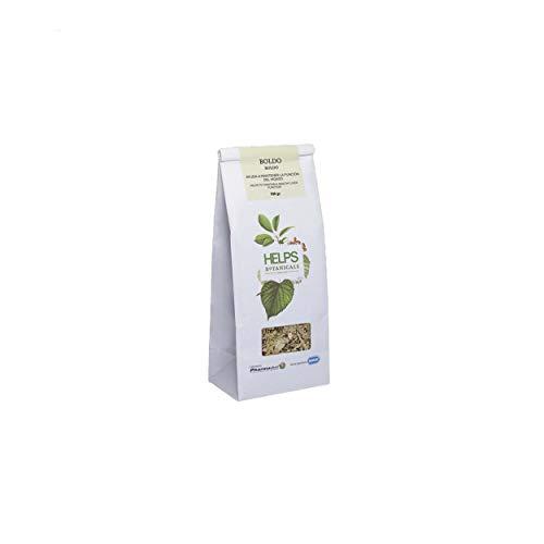 Ingredientes: Peumus boldus Molina. (hoja) Bolsa granel 100 g Sin gluten, apto para celiacos. Sin azúcar, apto para diabéticos. Sin lactosa, apto para intolerantes a la lactosa. No modificado genéticamente Apto para veganos y vegetarianos
