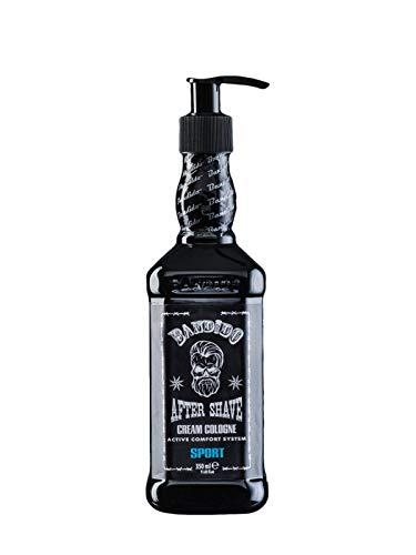 Bandido After Shave Cream Cologne Lotion Men 350ml Herren Balsam nach der Rasur- Nassrasur pflegt und kühlt Balm Creme Herren Pflege Sensible Haut (Sport)