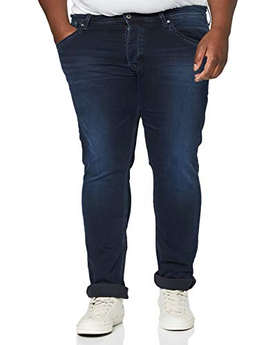 Pepe Jeans Track' Vaqueros, Negro (Black Used Gymdigo Denim We2), 36W / 34L para Hombre