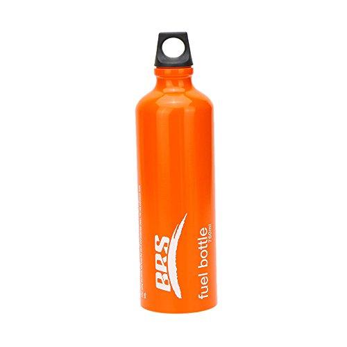 Lixada Camping Fuel Bottle with Safe Cap Camping Petrol Diesel Kerosene Alcohol Liquid Gas Tank 530ml/750ml