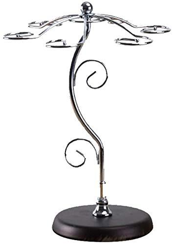 Estantería de vino Estante de vino Estante de vino europeo Estante de vino creativo con estante de vino rojo Rack de copa de vino Taza de colgaje Taza colgada Rack de estante de vino al revés Almacena