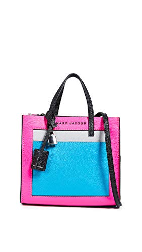 Marc Jacobs Women's Mini Grind Tote, Pink Multi, One Size
