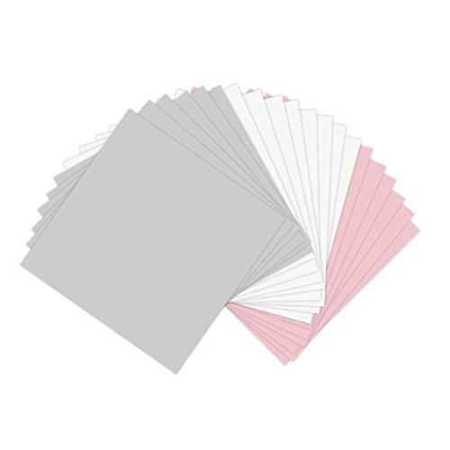 Sizzix Papier-Blatt 6von 6verschiedenen Pastellfarben, 20Blatt