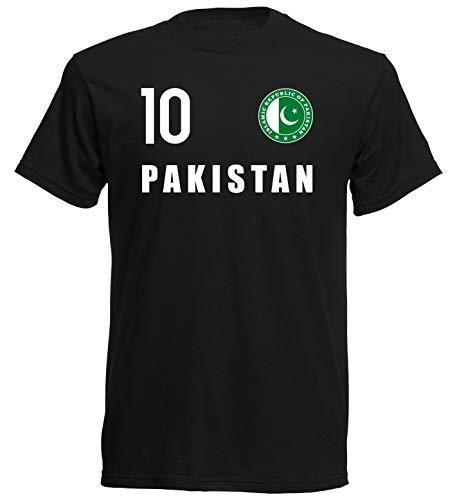 Nation Pakistan T-Shirt Trikot Wappen FH 10 SC (S)